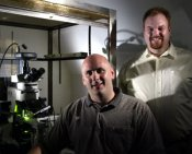 Mark Underwood and James R. Moyer, Jr. Ph.D. at the University of Wisconsin-Milwaukee